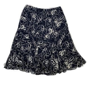 Lauren Ralph Lauren silk skirt floral print 16W